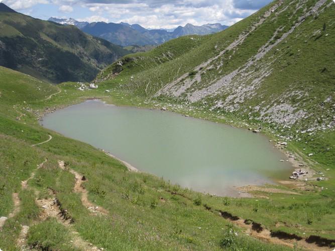 Lago branchino for Cabine spartiacque vista lago fontana